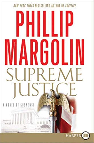 9780061979576: Supreme Justice LP: A Novel of Suspense (Dana Cutler Series)