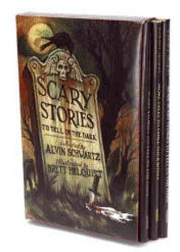 9780061980930: Scary Stories Box Set: Scary Stories, More Scary Stories, and Scary Stories 3