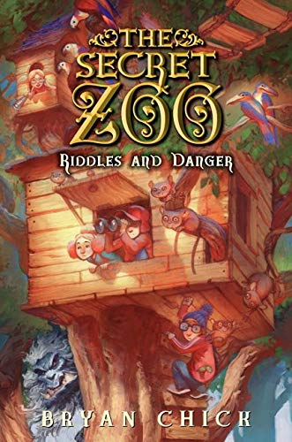 9780061989278: The Secret Zoo: Riddles and Danger