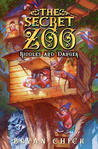9780061989285: The Secret Zoo: Riddles and Danger