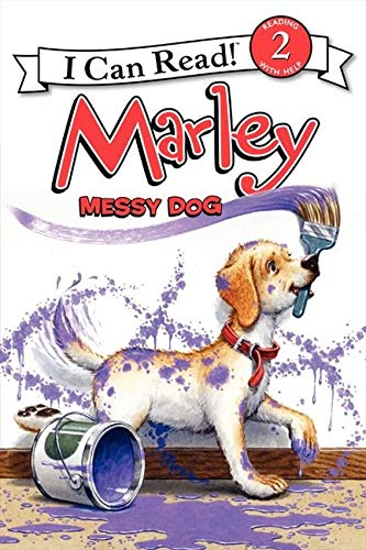 9780061989407: Marley: Messy Dog (I Can Read Book 2)