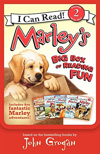 9780061989452: Marley's Big Box of Reading Fun: Contains Marley: Farm Dog; Marley: Marley's Big Adventure; Marley: Snow Dog Marley; Marley: Strike Three, Marley!; An (I Can Read Books: Level 2)
