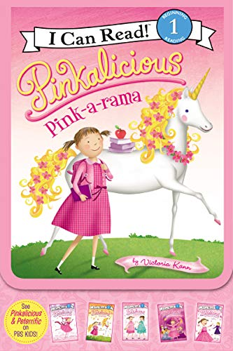 9780061989667: Pinkalicious: Pink-a-rama (I Can Read Book 1)