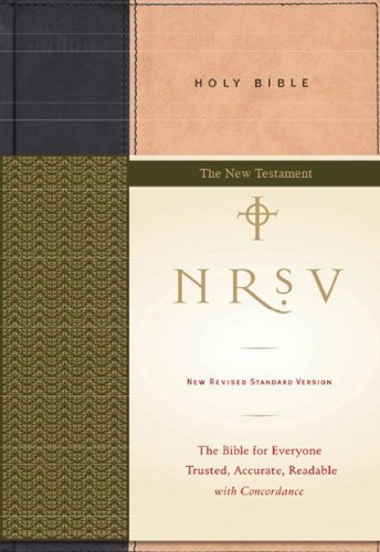 9780061990182: NRSV Standard Bible--New Testament