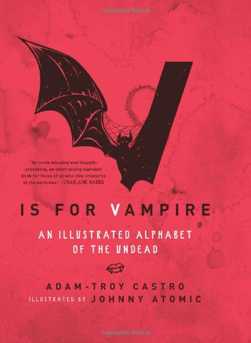 9780061991868: V Is for Vampire: An Illustrated Alphabet of the Undead