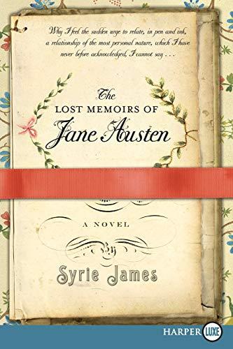 9780061992841: The Lost Memoirs of Jane Austen