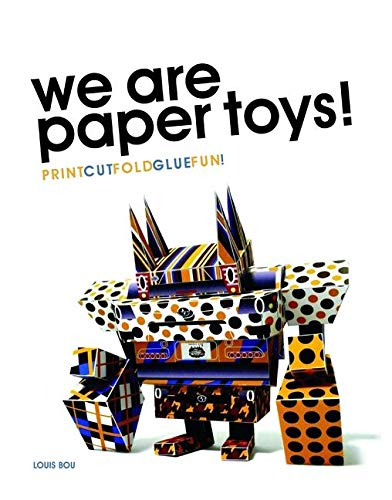 9780061995125: We Are Paper Toys: Print-Cut-Fold-Glue-Fun
