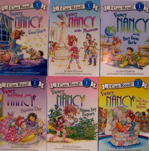 9780062003836: Fancy Nancy Pack - Sees Stars, At the Museum, Boy From Paris, Pajama Day, Poison Ivy Expert, Dazzlin
