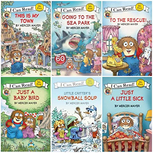 9780062003881: Little Critter Going to the Sea Park / Going to the Firehouse / Snowball Soup / Just a Little Sick / This Is My Town / to the Rescue / (My First I Can Read)