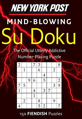 9780062007513: New York Post Mind-blowing Su Doku: 150 Fiendish Puzzles
