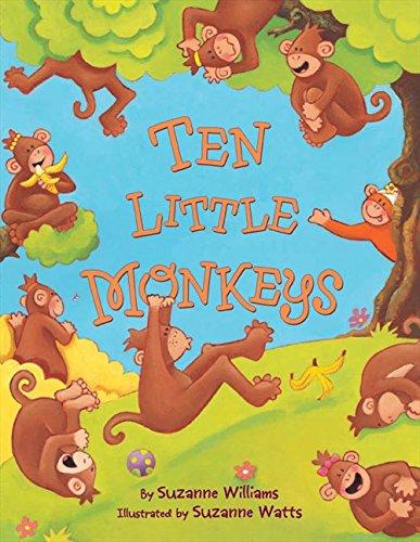 9780062008404: Ten Little Monkeys