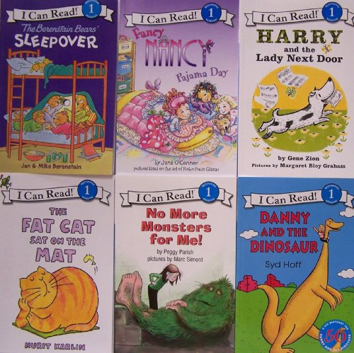 9780062011244: I Can Read, Level 1 Assortment - 6 Book Set