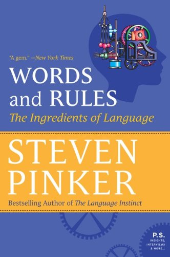 9780062011909: Words and Rules: The Ingredients of Language (P.S.)