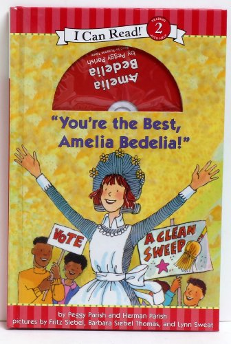 9780062012111: You're the Best, Amelia Bedelia with CD (I Can Read!, Level 2 Reading with Help)