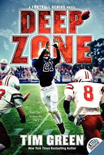 9780062012456: Deep Zone (Football Genius Novel)