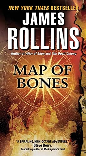 9780062017857: Map of Bones (Sigma Force)
