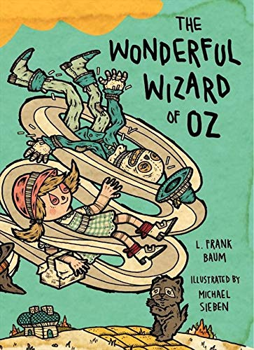 9780062018083: The Wonderful Wizard of Oz: Illustrations by Michael Sieben