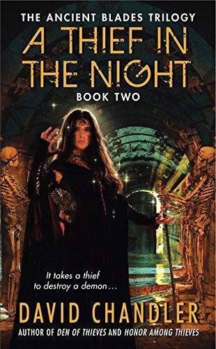 9780062021250: A Thief in the Night (Ancient Blades Trilogy)