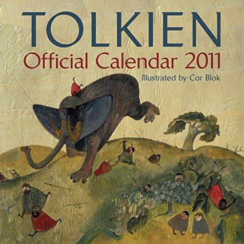 9780062022172: Tolkien Calendar 2011
