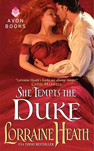 9780062022462: She Tempts the Duke (Lost Lords of Pembrook)