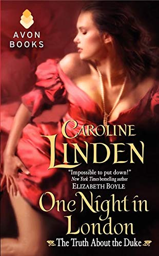 9780062025326: One Night in London: The Truth About the Duke (Avon)