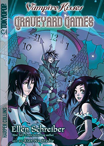 9780062026729: Vampire Kisses: Graveyard Games (Vampire Kisses Graphic Novels (Tokyopop))