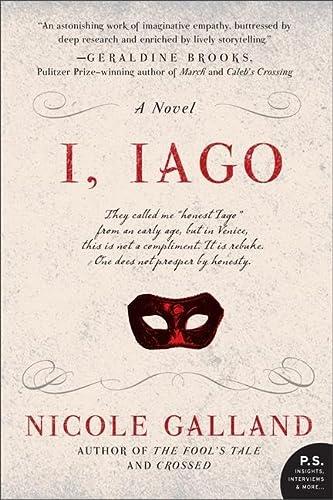 9780062026873: I, Iago: A Novel