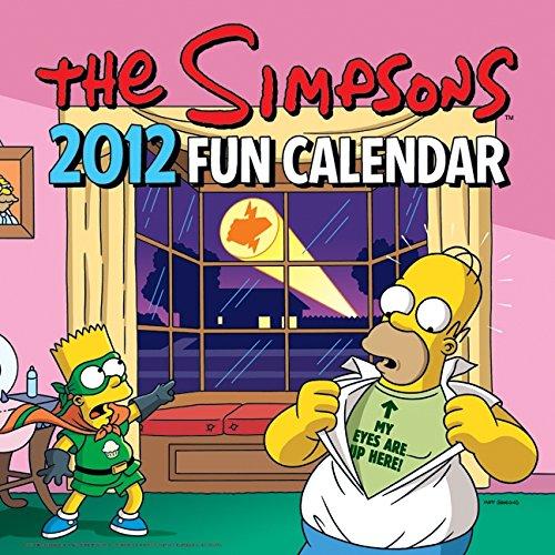 9780062044952: The Simpsons 2012 Fun Calendar