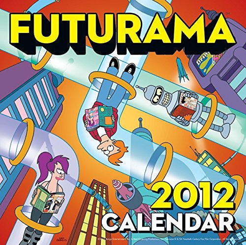 9780062048196: Futurama 2012 Calendar