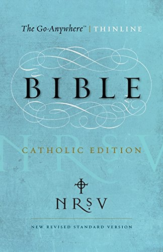 9780062048363: NRSV Go-Anywhere Thinline Bible Catholic Edition (PB)