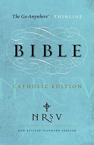 9780062048363: NRSV - Go-Anywhere Thinline Bible Catholic Edition