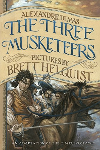 9780062060136: The Three Musketeers: Illustrated Young Readers' Edition