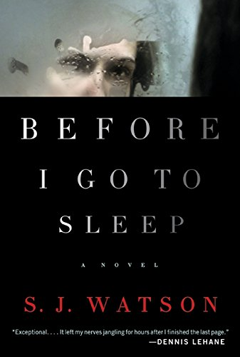 9780062060556: Before I Go to Sleep: A Novel
