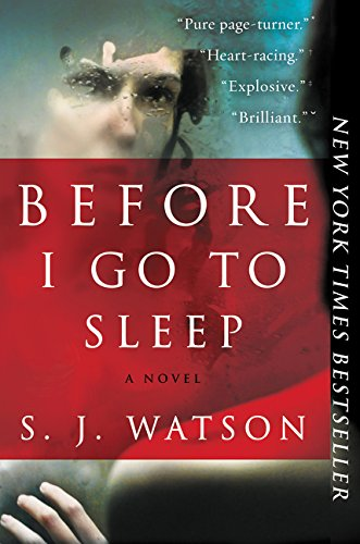 9780062060563: Before I Go to Sleep: A Novel