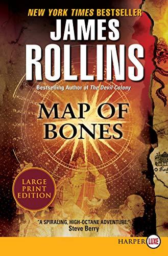 Map of Bones (Paperback): James Rollins