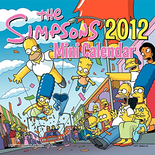 9780062066978: The Simpsons 2012 Mini Calendar