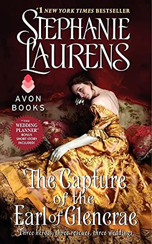 9780062068620: The Capture of the Earl of Glencrae (Cynster Sisters Trilogy)
