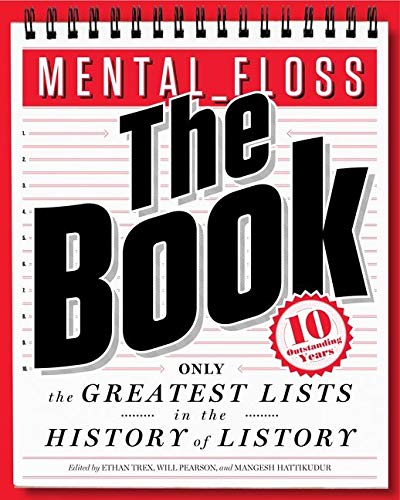 9780062069306: mental_floss: The Book: The Greatest Lists in the History of Listory