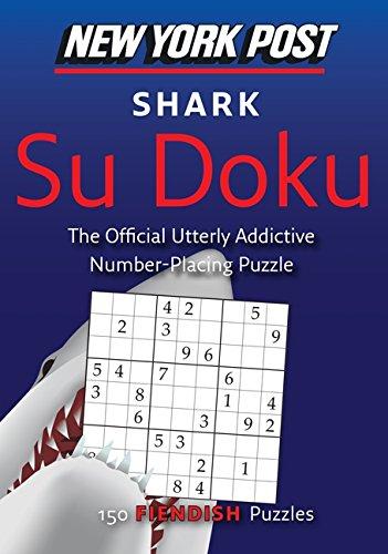 9780062069856: New York Post Shark Su Doku: 150 Fiendish Puzzles