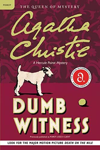 9780062073754: Dumb Witness: A Hercule Poirot Mystery