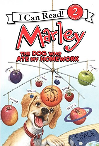 9780062074812: Marley: The Dog Who Ate My Homework (I Can Read Marley - Level 2 (Hardback))