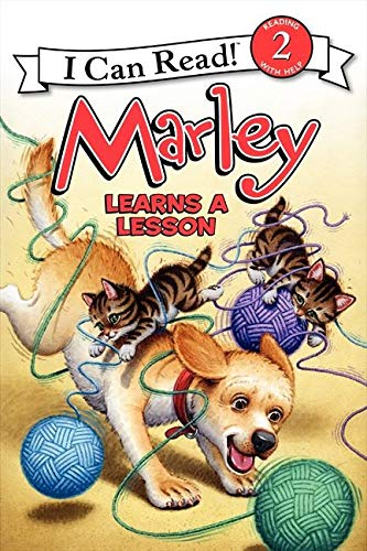 9780062074874: Marley: Marley Learns a Lesson (I Can Read Level 2)