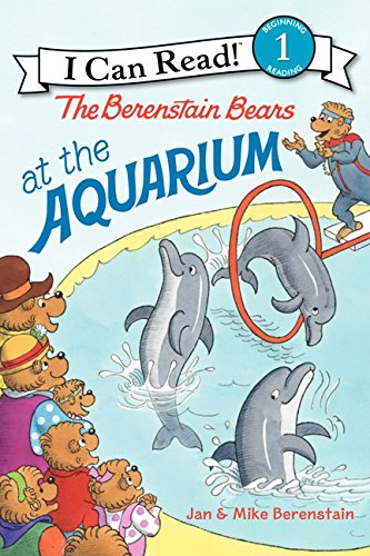 9780062075253: The Berenstain Bears at the Aquarium (I Can Read Book 1)