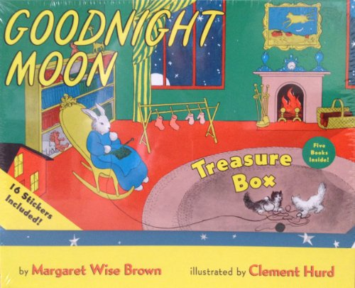 9780062079787: Goodnight Moon Treasure Box Set - 5 Classic Stories and Stickers
