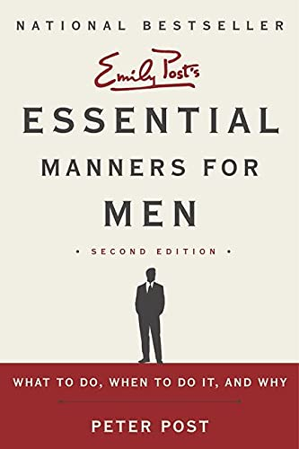 9780062080417: Essential Manners for Men 2nd Edition: What to Do, When to Do It, and Why