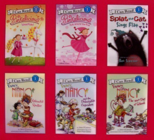 9780062080592: I Can Read Fancy Nancy and Pinkalicious 6 Book Set (I Can Read, Level 1)
