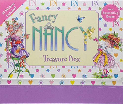 9780062080882: Fancy Nancy Treasure Box
