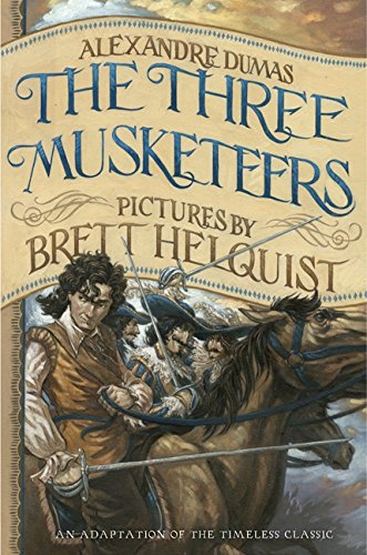 9780062082305: The Three Musketeers: Iillustrated Young Readers' Edition