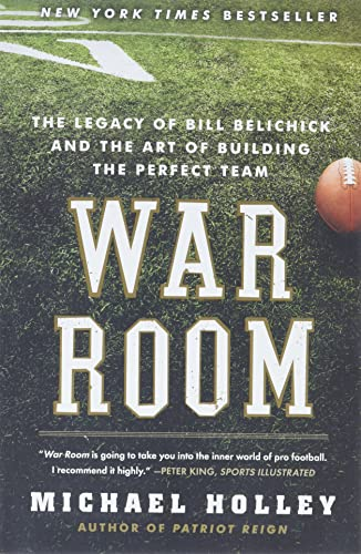 9780062082404: War Room: The Legacy of Bill Belichick and the Art of Building the Perfect Team