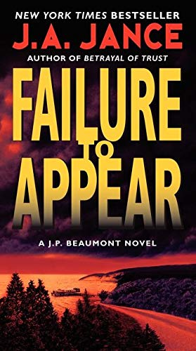 9780062086396: Failure to Appear: A J.P. Beaumont Novel